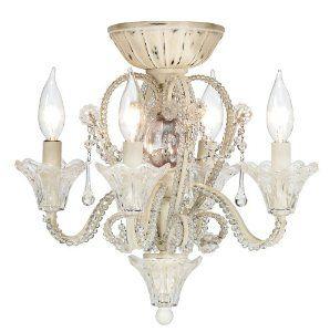 Chandelier Ceiling Fan Light KIT:   ADD a chandelier TO your ceiling fan!