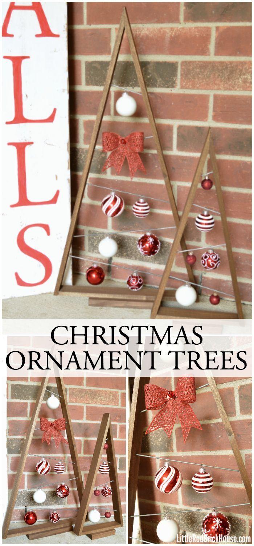 Christmas tree ornament display - Christmas Ornament Trees