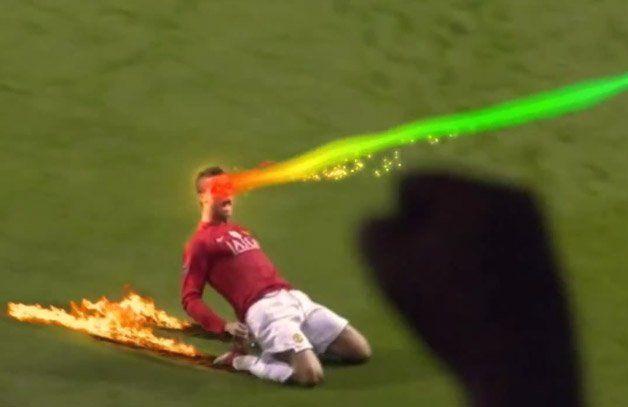 O futebol seria bem mais interessante com efeitos especiais como mostra o vídeocriado pelo grupoSurrender Monkeys X Buzzman.