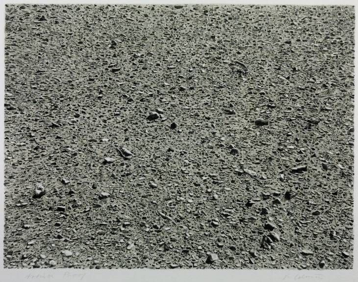 Vija Celmins 'Desert', 1975 © Vija Celmins