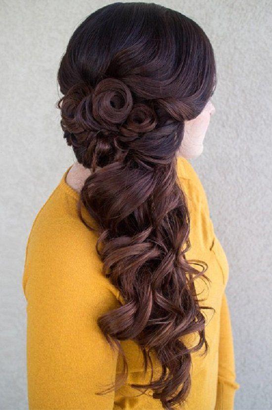 20 Hermosos Peinados para Cabello Largo - Peinados