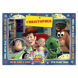 Disney.Pixar Toy Story 3 Personalised Placemat - Personalised Placemats - Your Home | Buy Online with Identity Direct Australia