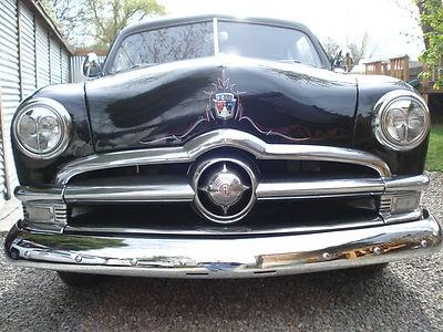 1950 ford custom, coupe, hot rod, flathead