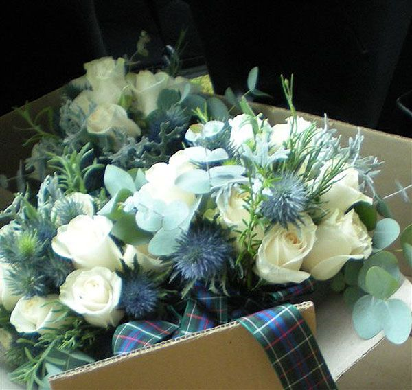 scottish wedding flowers