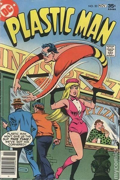 Plastic Man (1966 1st Series DC) 20