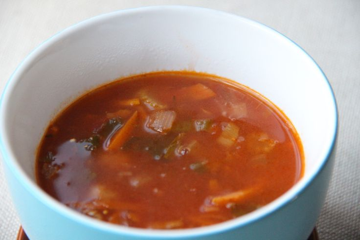 Simpel tomatensoep