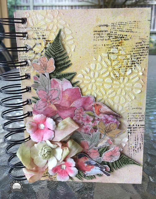 Artdeco Creations Brands: Altered Notebook by Anita Enright