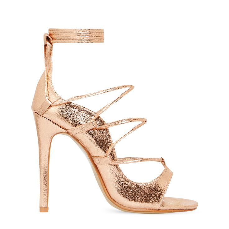 Pumps & High Heels for Women On Sale, Gold, Leather, 2017, 3.5 4.5 Strategia