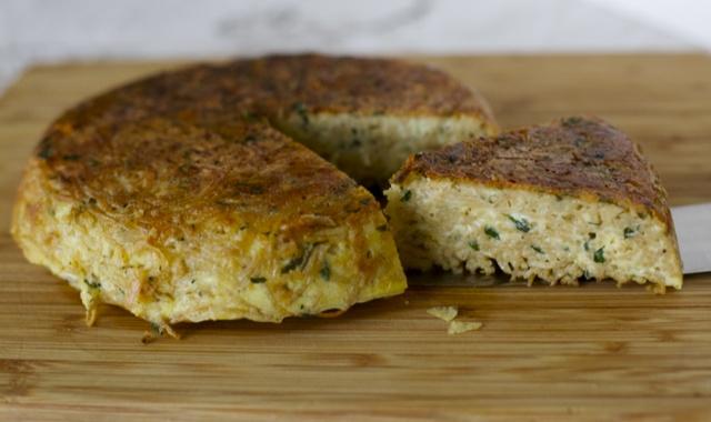 Tortilla de fideos, receta chilena / tortilla de pasta   En mi cocina hoy