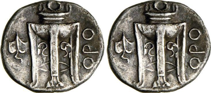NumisBids: Numismatica Varesi s.a.s. Auction 65, Lot 1 : BRUTTIUM - KROTON - (425-350 a.C.) Nomos o Statere. D/ Aquila...