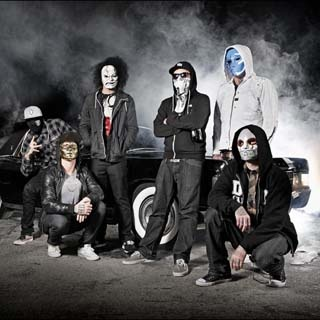 "American rap rock band, Hollywood Undead have released a lyric video for the song titled ""Outside"", featured on their latest third studio album 'Notes from the Underground'. The album was released on January 8, 2013 in the United States. The band is currently on tour in promoting the album."