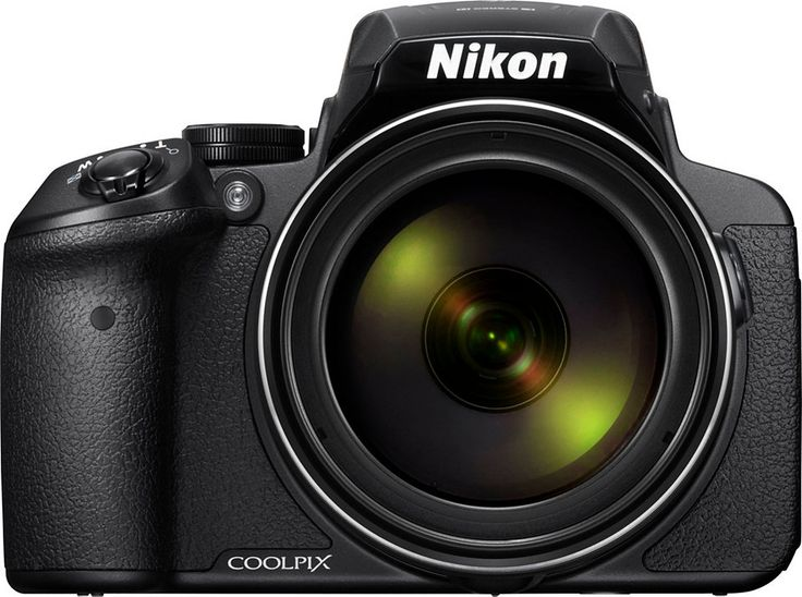 Nikon Coolpix P900 Super Zoom Kamera, 16 Megapixel, 83x opt. Zoom, 7,5 cm (3 Zoll) Display