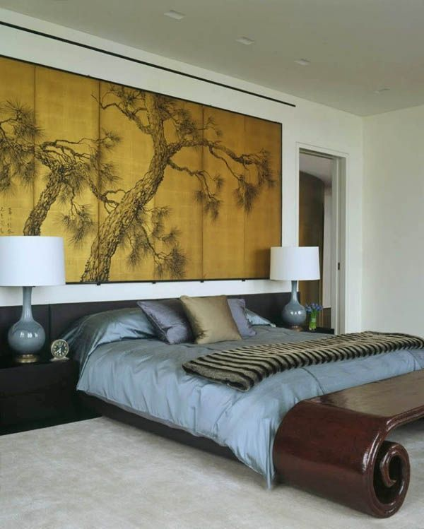 Bedroom With Zen Inspired Interior Decor