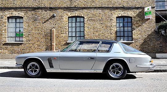 Inception: Driving a prototype Jensen Interceptor