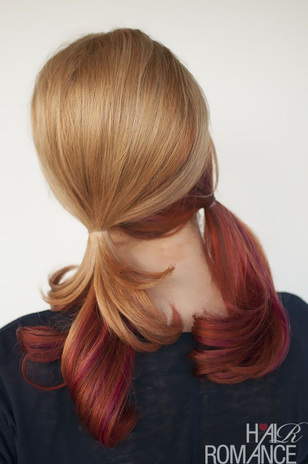 How to wear pigtails without a partline (and hide any regrowth) | Hair Romance