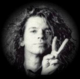 Michael Peace sign