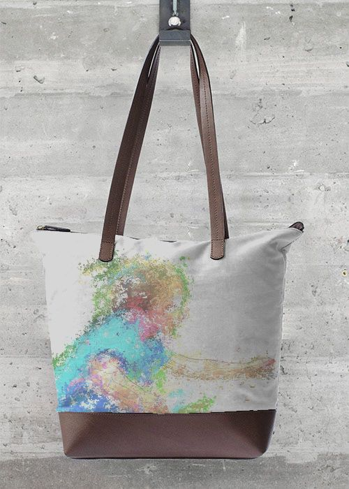 Tote Bag - PURPLE MOON by VIDA VIDA