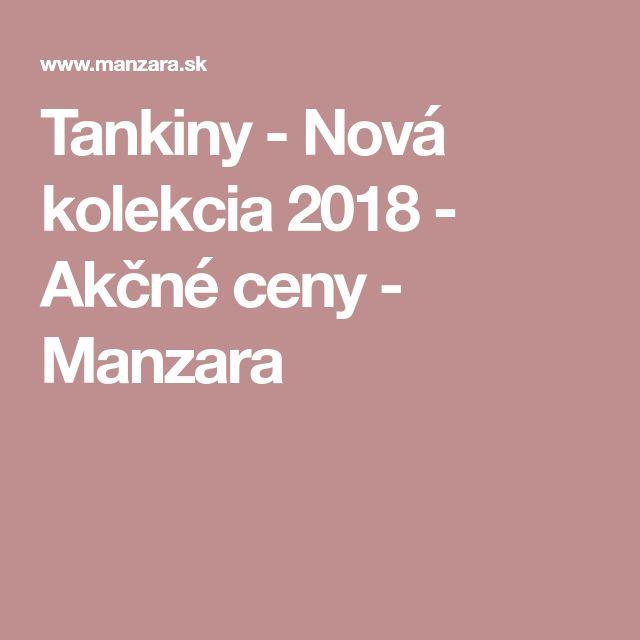 Tankiny - Nová kolekcia 2018 - Akčné ceny - Manzara