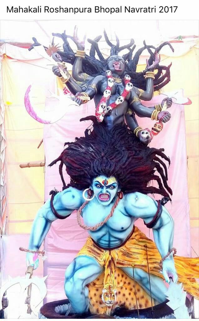 Kali Puja Shiva Kali