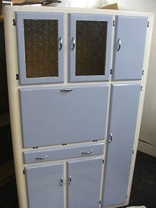 Vintage Retro 1950's / 60's Kitchen Larder Cabinet Cupboard with Drawers & Doors | eBay