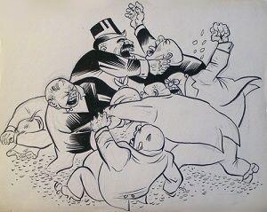 William Gropper cartoon