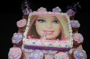 Edible Barbie Cake Ideas