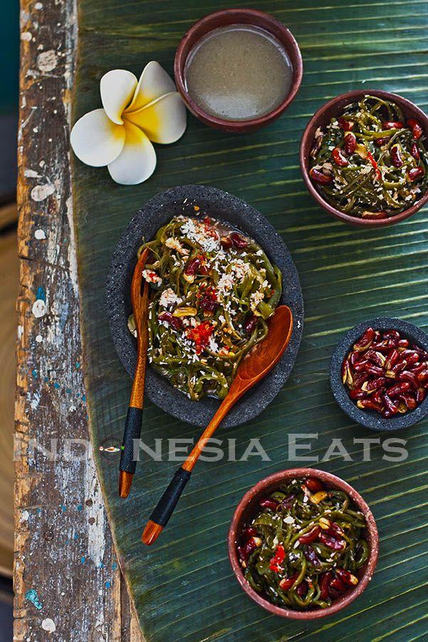Bulung Kuah Pindang (Balinese Seaweed Salad) | Indonesia Eats