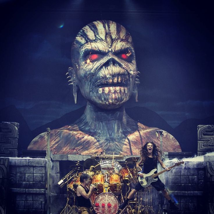 Iron Maiden Book of Souls Tour