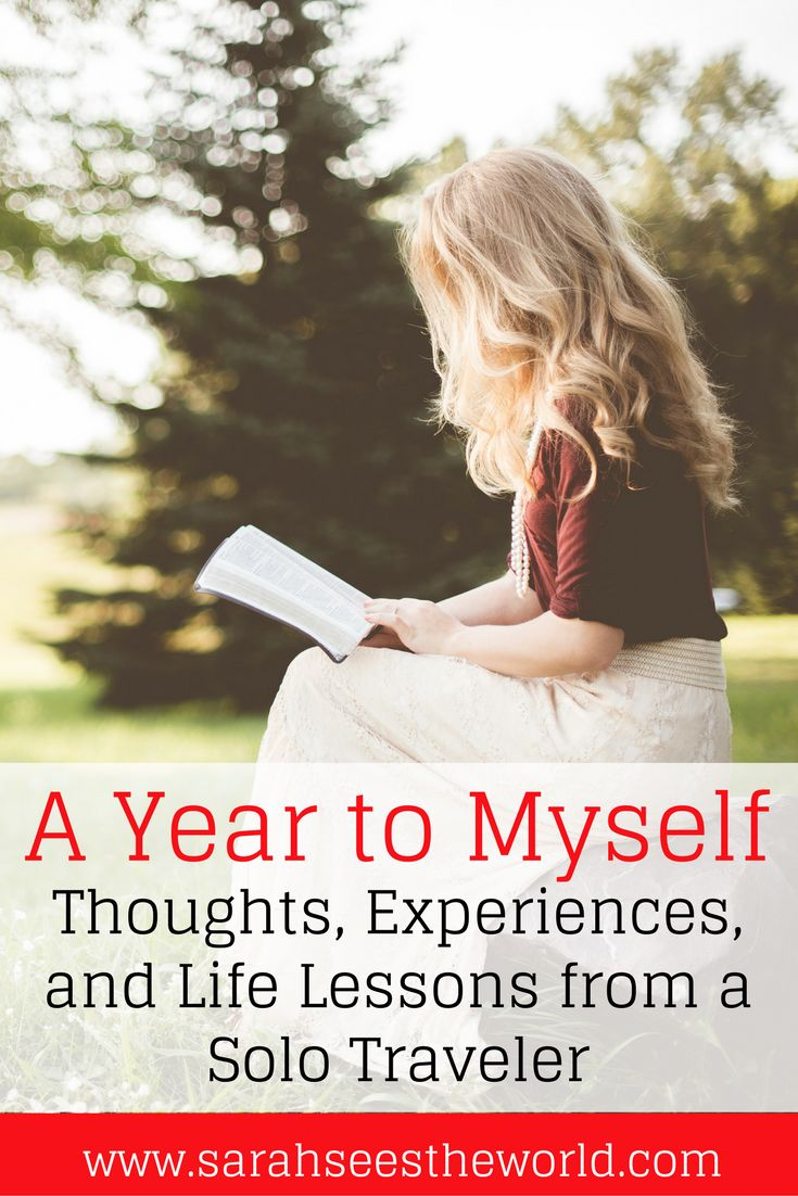 If you're looking for a travel book to read, check out A Year to Myself by Brooke Saward. It's a book about her solo trip abroad without relationships or one night stands. It's purely a recollection of her journey and self-reflection that will have you contemplating your journey as well. Check out what we thought about it and where you can get it. Don't forget to save this to your travel board.