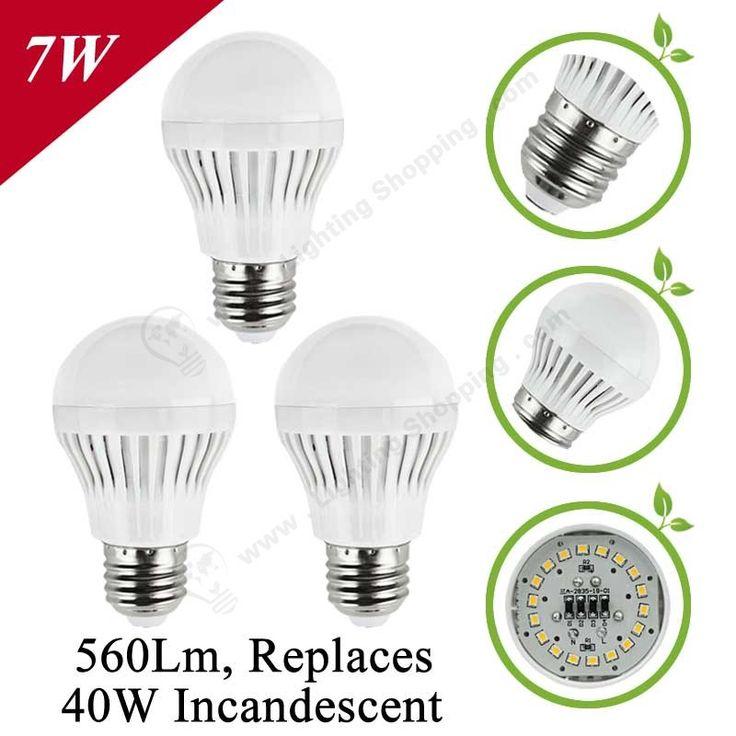 Low Price LED Bulbs E27 Globe Shape-Detail-7W