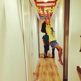 トレーニングルーム 自宅ジムのインテリア実例 Roomclip ルーム
