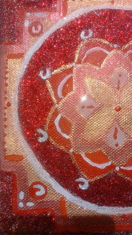 Mandala art detail
