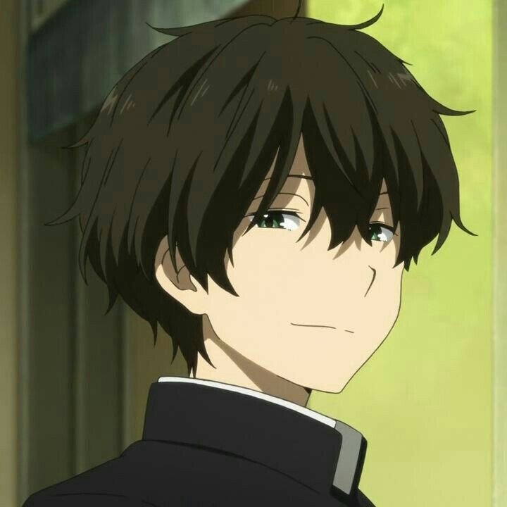 Anime Boy Hyouka Oreki Aesthetic 90s Grainy Asian Japanese