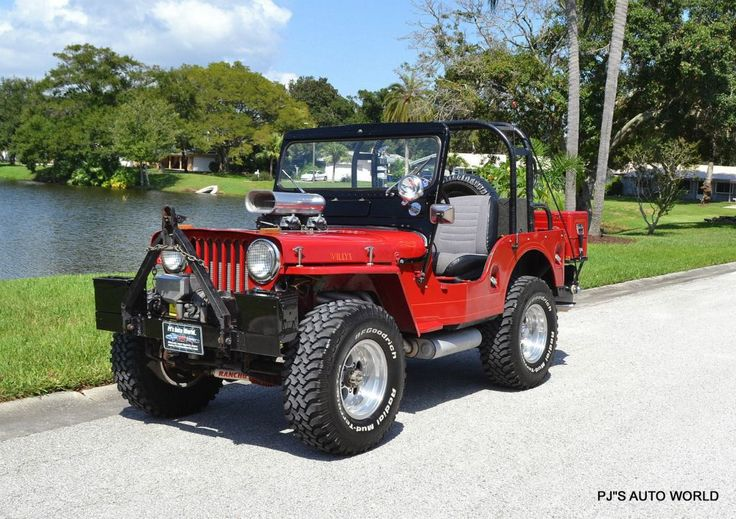 1953 Willys CJ3A Jeep for Sale PJs Auto World Clearwater Florida
