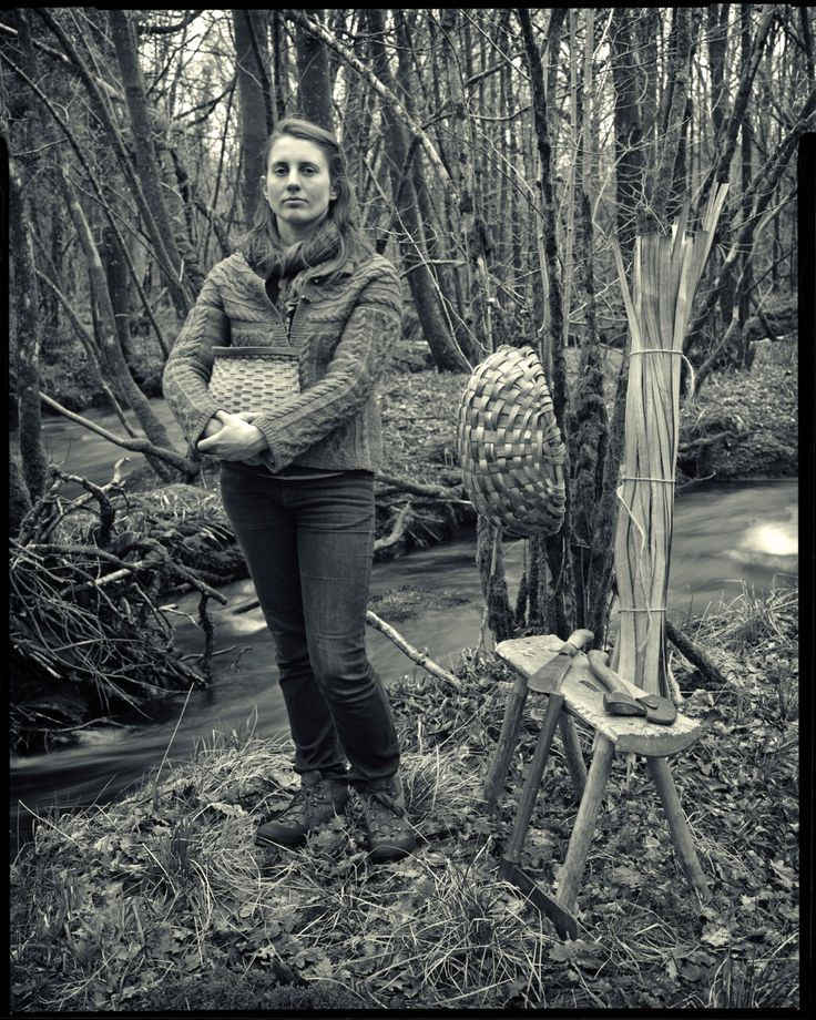 Lorna Singleton makes products using oak found in this wood, photo taken by Rob Fraser