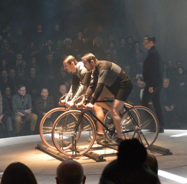 Arrivo - fashion performance by Matteo Gioli and Stefano Ughetti for #Pitti87