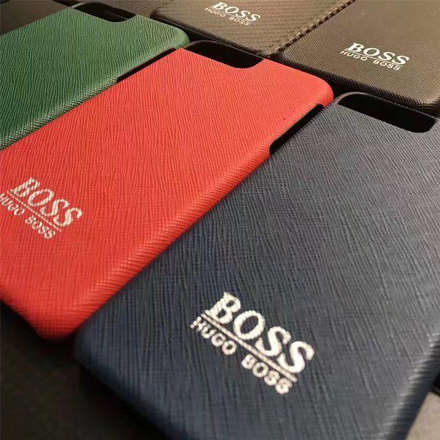 HOGO BOSSヒューゴ・ボス 革製iPhone7s/7/7plusケースブランドアイフォン6s/7携帯カバー