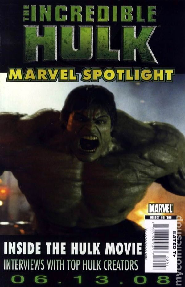 Marvel Spotlight Hulk Movie (2008) 0