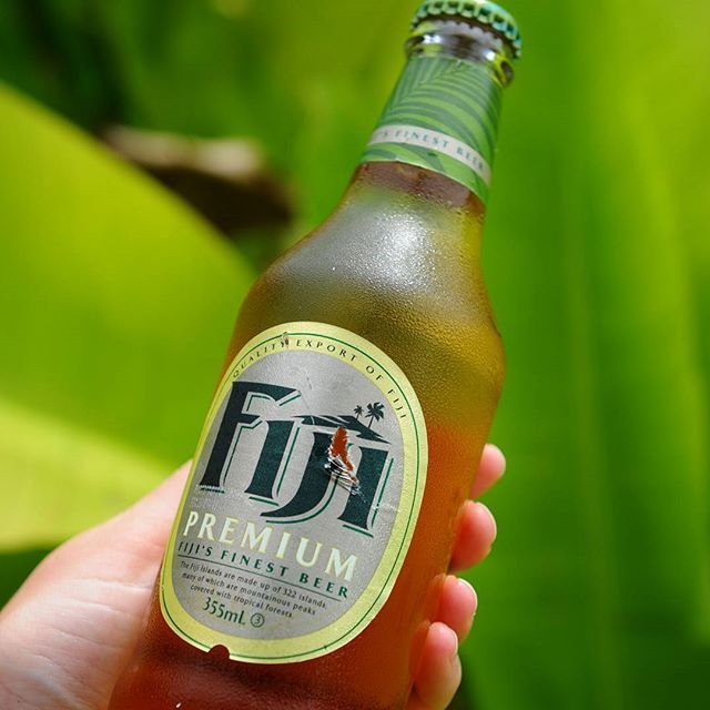 To get this brand you have to travel pretty far...  #fiji #olut #beer #travel #traveling #visiting #instatravel #instago #trip #photooftheday #travelling #instapassport #matka #blogi #colors #green #vihreä #matkablogi #blogi #reissu #colors #cold #pacific #photooftheday #picoftheday #travelblogger