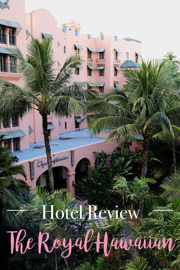 Hotel Review: The Royal Hawaiian in Oahu, Hawaii | USA Travel | Luxury Travel | Luxury Hotel |