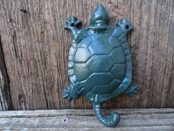 Turtle Bathroom Decor: Turtle Wall Hook , Towel Hook , Kids Bath Hook , Zoo Wall