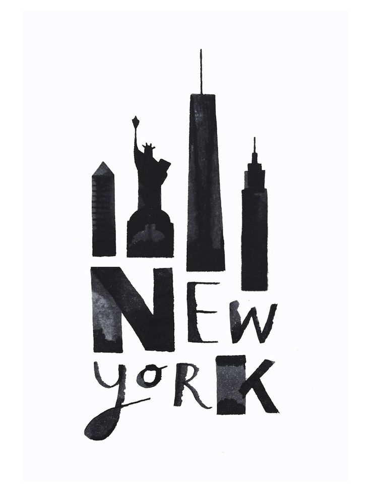 """""""Calligraphy Cities"""" – Great Black & White D…"""