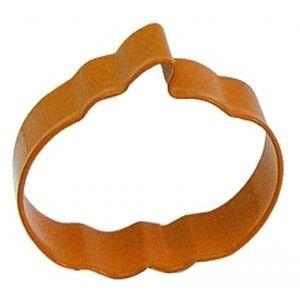 """R & M Pumpkin Cookie Cutter - 3"""" - Orange Golda's Kitchen"""