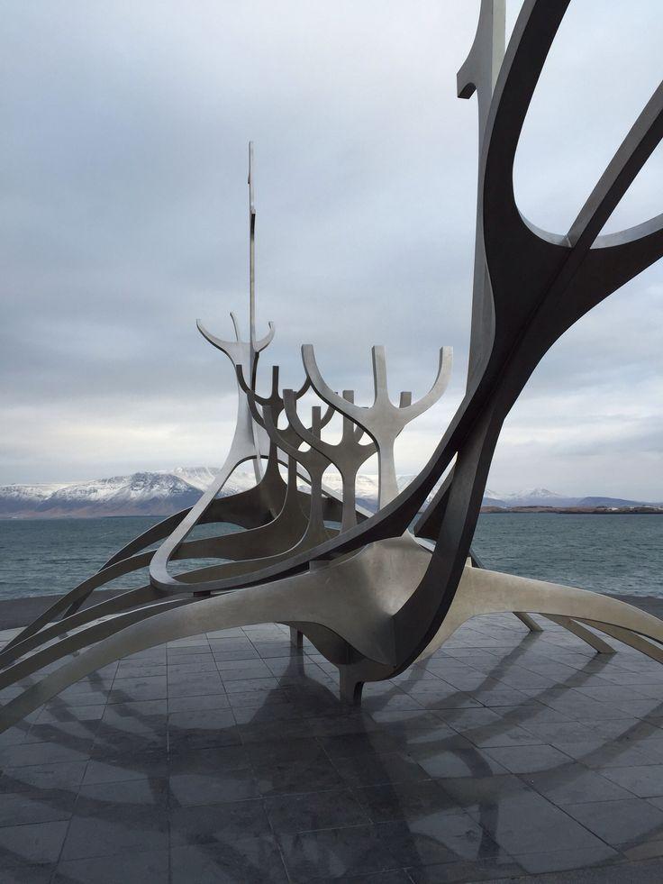 Sólfar (Sun Voyager).  Reykjavik, Iceland.  Photo by Aimee Kasten.