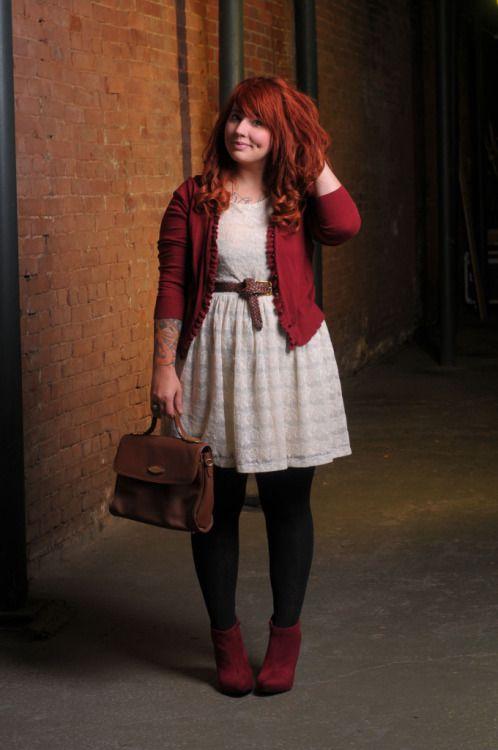 Siempre me he sentido identificada con esta chica, ahora resulta que hasta usamos los mismos vestidos :)