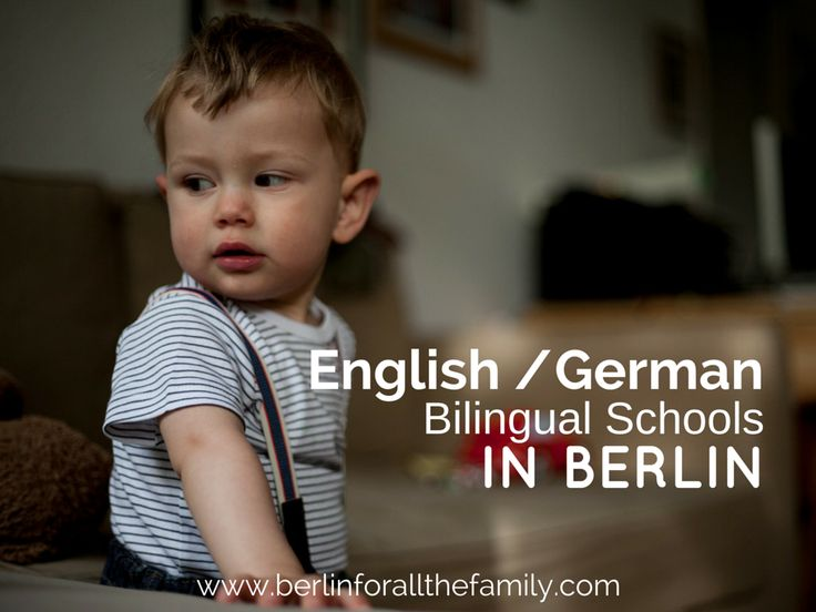 Berlin's English/German Bilingual Schools