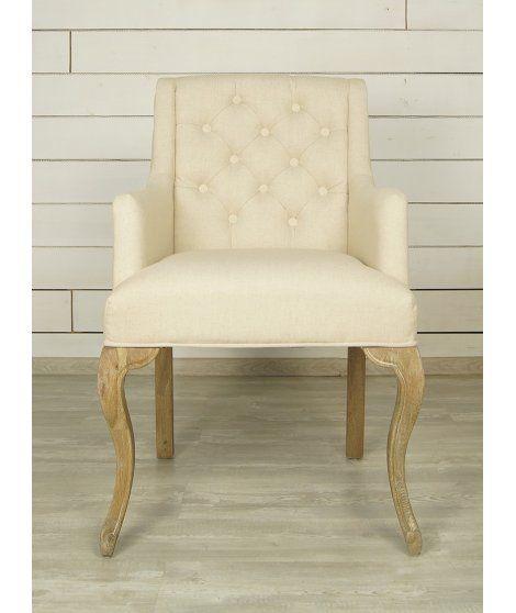 Бежевый стул для гостиной (Классицизм) EtgCH-270-OAK