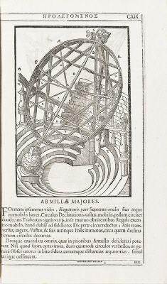 Historia coelestis från 1666 författad av Tycho Brahe.