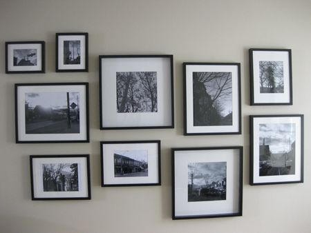 Gallery Walls: Actually Creating One | House & Home