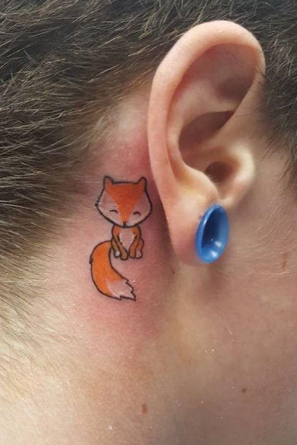 47 ideias para tatuagens atrás da orelha! | Tatuagem atrás da orelha, Tatuagem atras da orelha, Tatuagem na orelha